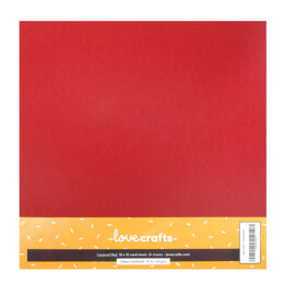 """Lovecrafts Classic Cardstock 80lb 12"""" x 12"""" 10 Pack"""