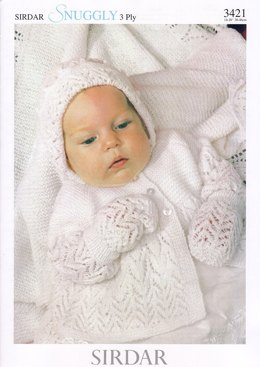 Layette in Sirdar Snuggly 3 Ply - 3421
