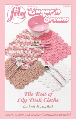 The Best of Lily Dish Cloths by Lily Sugar 'n Cream