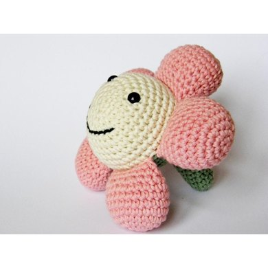 Amigurumi Flower soft toy
