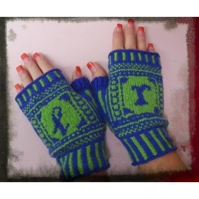 My Sense of Direction Mitts