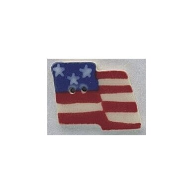 Mill Hill Button 86177 - Large Flag