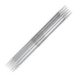 "Knitter's Pride Nova Platina Cubic 6"" Double Pointed Needle (set of 5)"