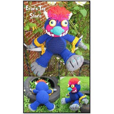 My Pet Monster Crochet Pattern By Erins Toy Store