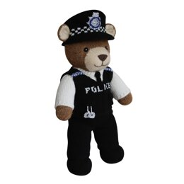 Police Officer (Knit a Teddy)