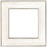 Mill Hill Antique White, Solid Color Wooden Frame