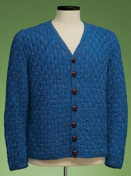 Garter Basketweave Cardigan #161