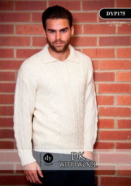 Sweater in DY Choice DK With Wool - DYP175