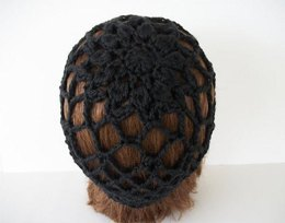 Lace Beanie with Flower