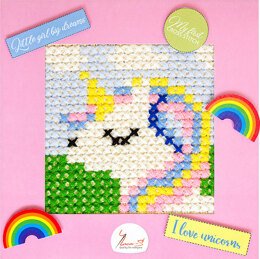 Luca-S My First Cross Stitch Kit - Unicorn - Multi