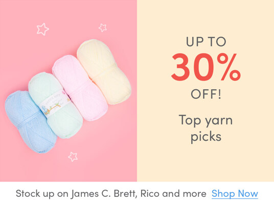 Up to 30 percent off Top yarn picks