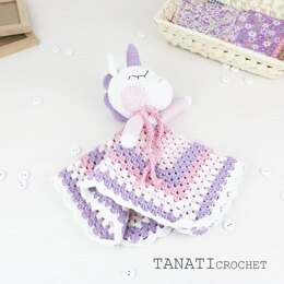 Blanket Unicorn Sweet Pattern