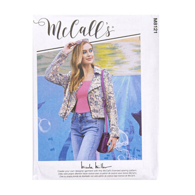 McCall's Misses' Jackets M8121 - Sewing Pattern