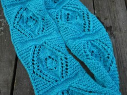 Bold Squares Infinity Scarf
