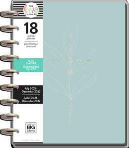 The Happy Planner Simple Faith Classic 18 Month Planner