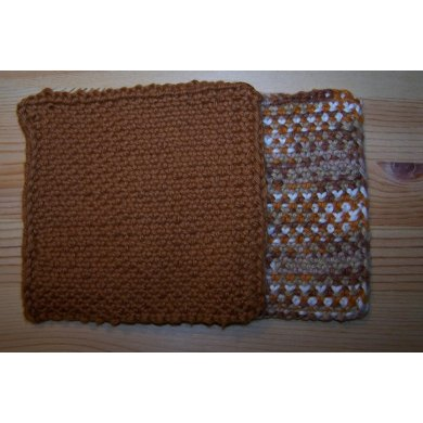 Knit Linen Stitch Coaster, Napkin, Towel or Placemat