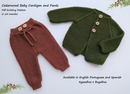 Cedarwood Baby Cardigan and Pants