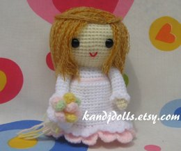 Jazzy the Bride - Amigurumi - PDF Crochet Pattern