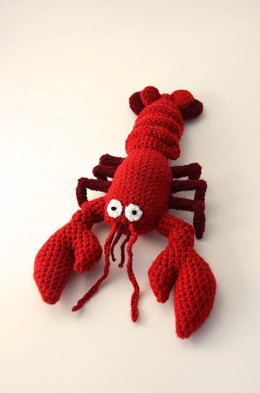 Red Lobster Crochet Pattern, Lobster Amigurumi Pattern