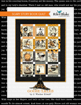 Riley Blake Scary Story Book Quilt - Downloadable PDF