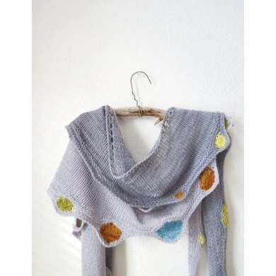 Colors And Circles Shawls