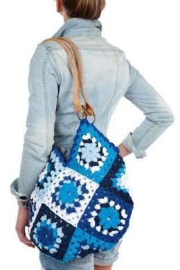 Granny Square Bag in Hoooked Eco Barbante