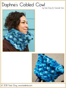 Daphne's Cabled Cowl in Cascade Magnum - B190
