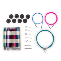KnitPro Smartstix Deluxe Interchangeable Needle Tips Set (8 Pairs)