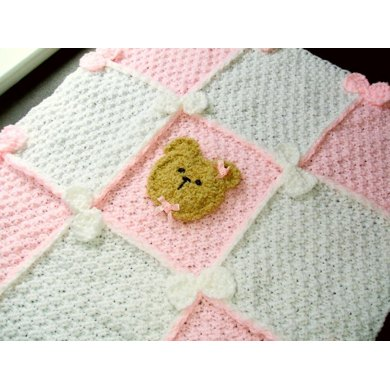 BEARS and BOWS BABY BLANKET