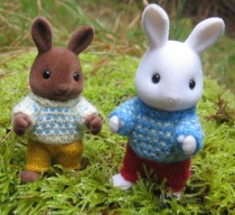 Spotty Jumpers for Sylvanian Families & Calico Critters