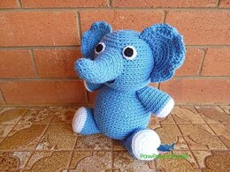 Amigurumi Elephant Pattern No.48