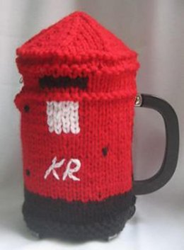 Post Box Coffee Pot Cosy