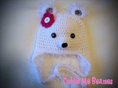 4a5536dca Fuzzy Bear Beanie Crochet pattern by April Bennett