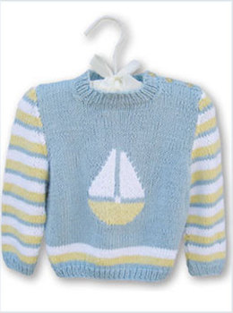 Sail Away Baby in Knit One Crochet Too Babyboo - 1504