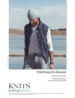 Portsmouth Beanie in Yoth Yarns Father - Downloadable PDF