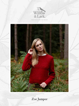 Zoe Jumper in Willow & Lark Woodland