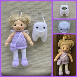 Tooth Fairy Doll & Tooth Set