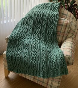 Keltie Cables Blanket or Throw