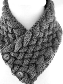 Woven Cable Neck Warmer