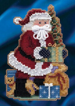 Mill Hill Merry Christmas Santa Cross Stitch Kit