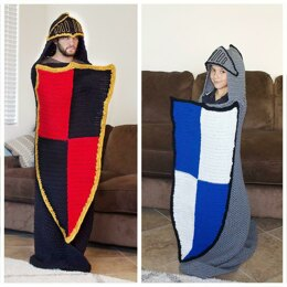 Hooded Knight Blanket