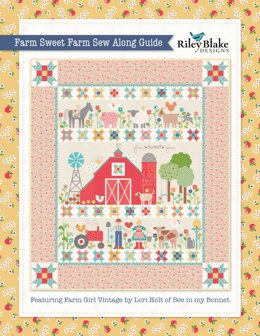 Riley Blake Farm Sweet Farm Sew Along Guide - Downloadable PDF