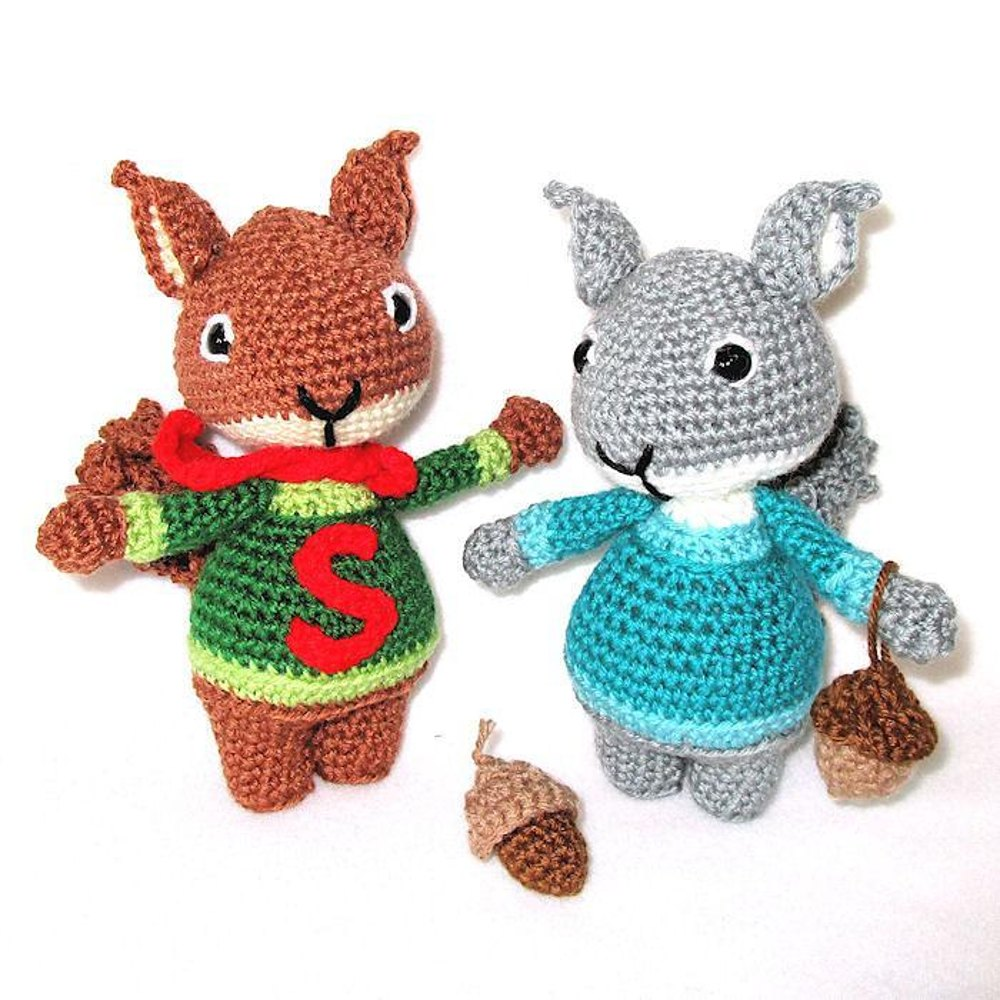 Sweet Amis Super Squirrel Crochet Pattern By Craft Designs For You