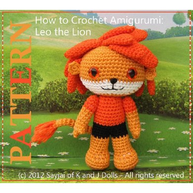 How to Crochet Amigurumi: Leo the Lion