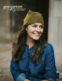 Guijarro Hat in Malabrigo Finito - Downloadable PDF