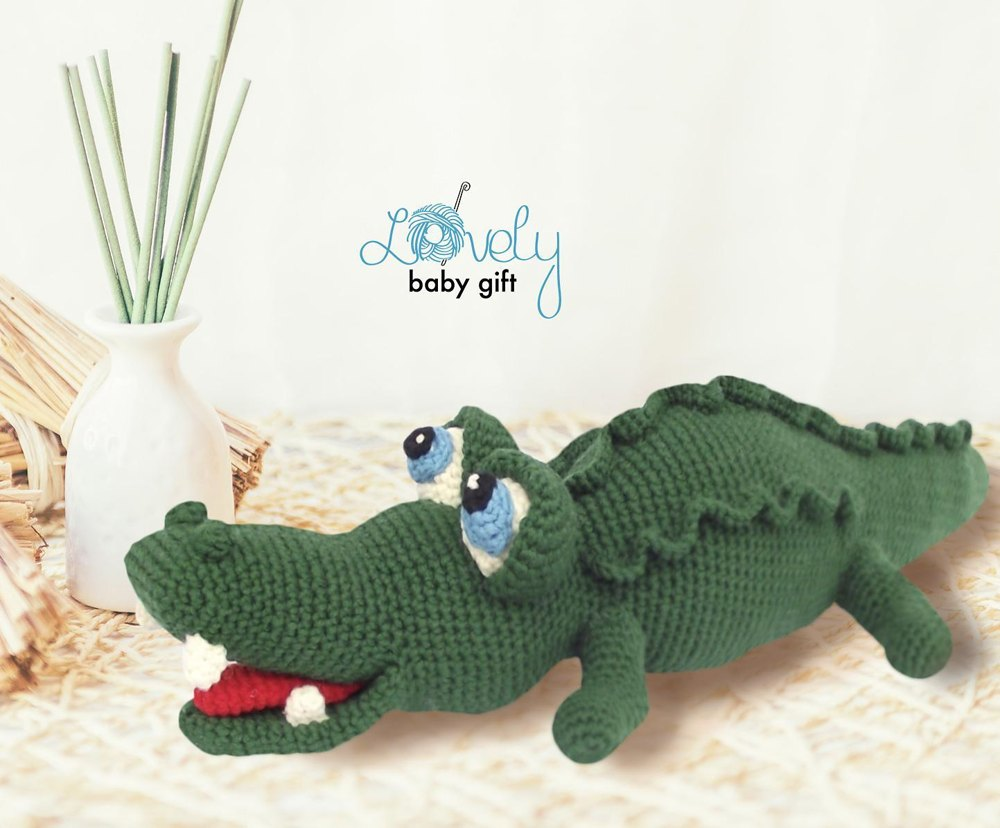 Contemporary Alligator Crochet Pattern Photo - Great Sewing Ideas ...