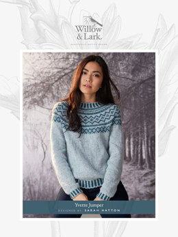 Yvette Jumper in Willow and Lark Woodland - Downloadable PDF