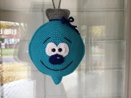 Christmas Bauble Pillow or Hanger