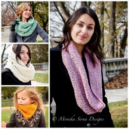 Cabernet Infinity Scarves