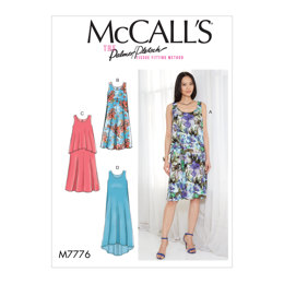 McCall's Misses' Dresses M7776 - Sewing Pattern